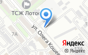 Автостоянка на ул. Олега Кошевого