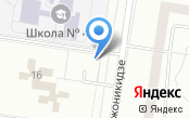 Ночная автостоянка на бульваре Орджоникидзе