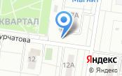 Автостоянка на бульваре Курчатова