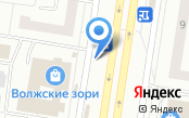 Ночная автостоянка на проспекте Степана Разина