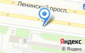 Ночная автостоянка на Ленинском проспекте