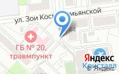 Автостоянка на ул. Зои Космодемьянской