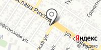 Сеть сервисных центров на карте