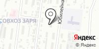 Заря на карте
