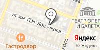 Фишер на карте