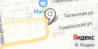 Савой на карте