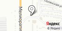 Абжорка на карте