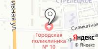 Модистка на карте
