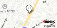 Жемчужина Каспия на карте