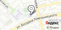 Средняя общеобразовательная школа №59 на карте