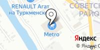 Метро Кэш энд Кэрри на карте