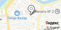 Милашка на карте