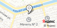 Алброс на карте