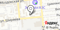 Астраханская геофизическая экспедиция на карте