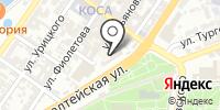 Министерство образования и науки Астраханской области на карте