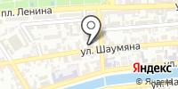 Газэнергосеть Астрахань на карте
