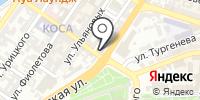 Детская художественная школа №1 на карте