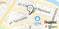 Акведук на карте