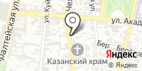 Домашний-Астрахань на карте