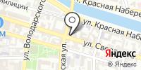 Тренажерный зал на карте