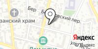 Столяровская на карте