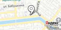 АстЭксперт на карте