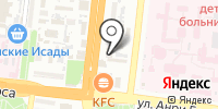 Север на карте