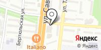 Цветник на карте