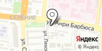 Орион-Д на карте