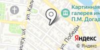 Родна на карте