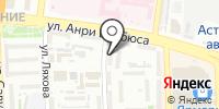 Иномарка на карте