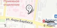Областной перинатальный центр на карте