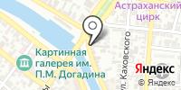 Сеть магазинов трикотажа на карте