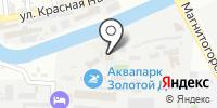 ШВСМ по академической гребле на карте