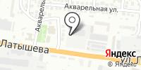 Каспрыбпродукт на карте