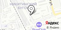 Обслуживающая организация на карте