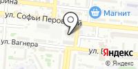 Силуэт на карте