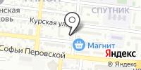 Нотариус Гончарова Н.В. на карте