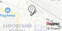 Комплексный центр социального обслуживания населения Кировского района на карте
