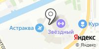 Звездный на карте