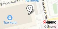 Горбушка. RUS на карте