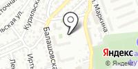 Торгово-монтажная фирма на карте