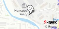Роскка на карте