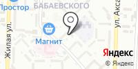 Г.А.Ф на карте