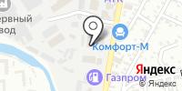 Вахта на карте