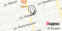 Айжан на карте