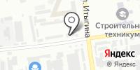 Хакасгаз на карте