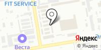 Магазин джинсов на Итыгина на карте
