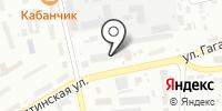 Штрафстоянка на Гагарина на карте