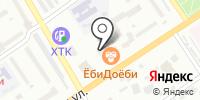 Затейник на карте